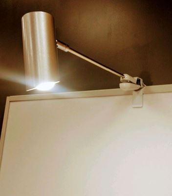 Bild på Spotlight, LED, lång arm klämfäste