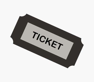 Picture of Inbjudningskort - Pappersbiljett